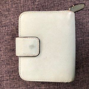 Coach Bifold Leather Snap Wallet